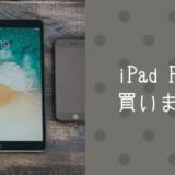 iPad Proを購入