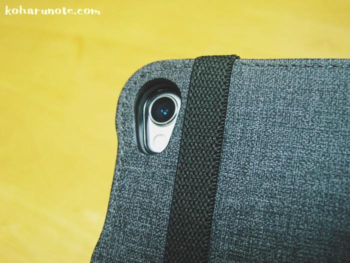 ZtotopのiPad Pro10.5インチ用ケースの背面カメラ部分