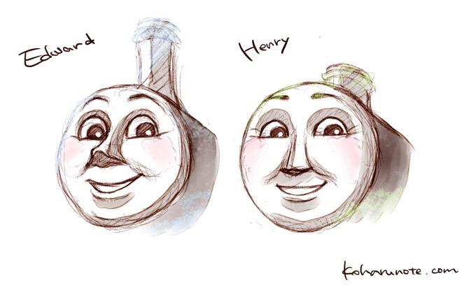 きかんしゃトーマスのエドワードとヘンリー