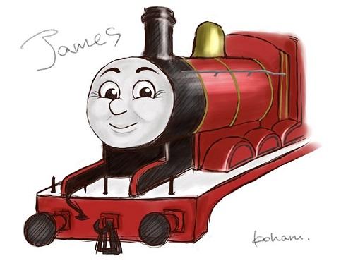 きかんしゃトーマスのジェームス